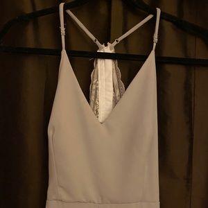 Gray prom dress (xs)